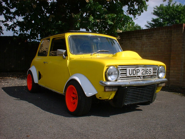 V8 engined Mini aka 'Doris'